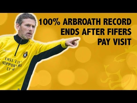 100% Arbroath record ends after Fifers pay visit
