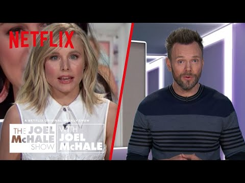 The Joel McHale Show With Joel McHale | Kristen Bell's Anal Worms | Netflix