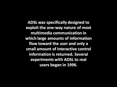 What is ADSL