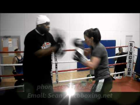 Training for women in boxing fitness & competition. Boxing training for women Image 1