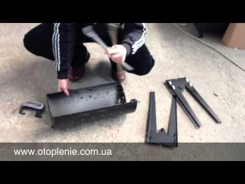 Как сделать складной мангал