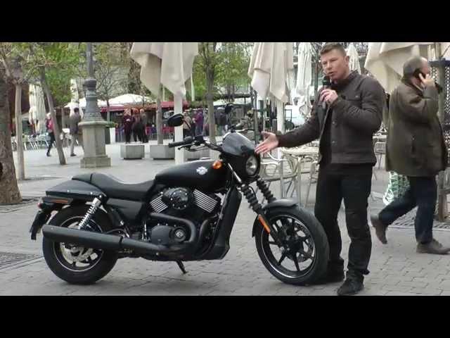 Vid�o Essai Harley-Davidson Street 750 : Nouveau challenge pour le g�ant Am�ricain