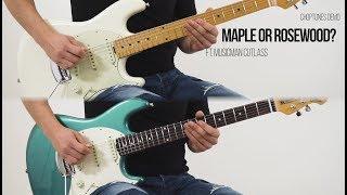 Maple or Rosewood? Guitar Neck Comparison (feat Music Man Cutlass)