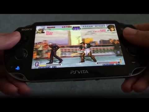 The King of Fighters 2002 game on PlayStation Vita! :) High-Definition video