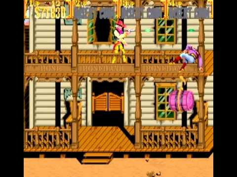 Sunset Riders (4 Players ver EAC) - Vizzed.com Play - User video