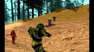 GTA SA * Elite Skin (Halo Alien) Mod