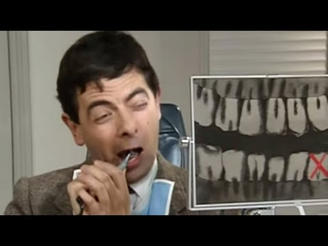 Mr Bean - Fixing his own Teeth