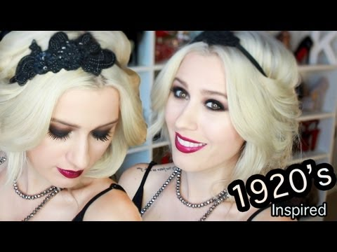 wearable great gatsby inspired hair makeup and outfit
