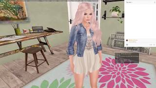 Live Stream! Cleaning The House! (Second Life)
