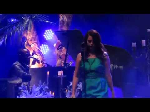 Lana Del Rey - Shades Of Cool ( live debut ) Live @ Hollywood Forever 10-18-14 HD