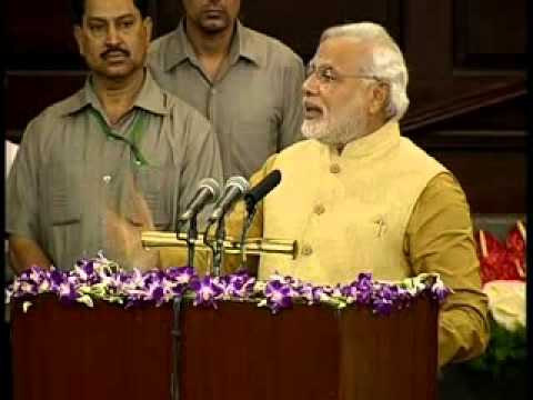 Shri Narendra Modi speech in Central Hall of Parliament after the BJP Parliamentary Party meet