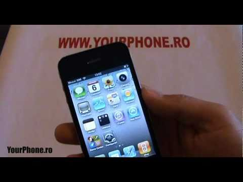 iphone 5 prezentare video in romana
