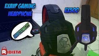 Review Headphone Gaming Exavp EX500
