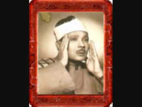 Qari Abdul Basit Surah Isra Takweer Rare Mid 1950s video