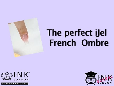 How to create an iJel Hard Gel French Ombre