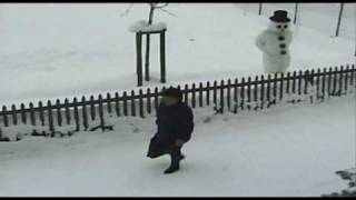 Trigger Happy TV - Snowman