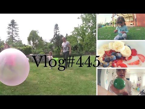 Riesen Ball Im Garten Vlog#445 Rosislife