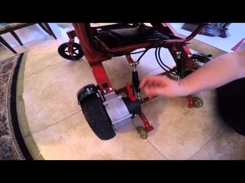 kd smartchair foldable power wheelchair (inscooter.com