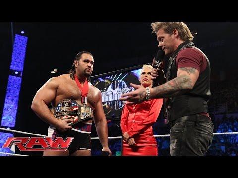 Chris Jericho on WWE Raw