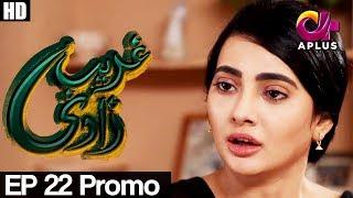 Ghareebzaadi - Episode 22 Promo | A Plus ᴴᴰ Drama | Suzzaine Fatima, Shakeel Ahmed, Ghazala Kaife