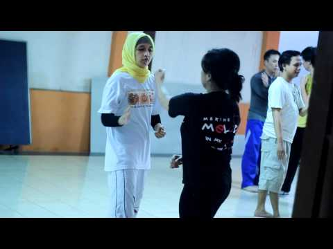 0 Materi pelatihan Kungfu Harimau Besi