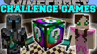 Minecraft: SPIRAL CHALLENGE GAMES - Lucky Block Mod - Modded Mini-Game
