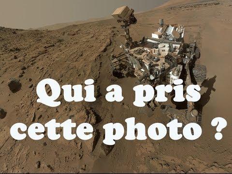 Le mystère des selfies de Curiosity