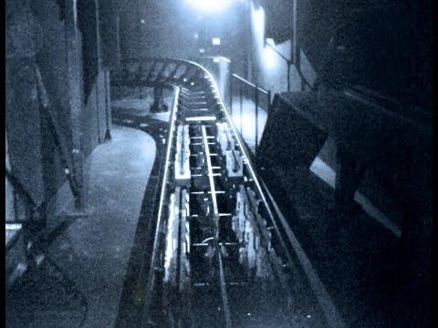 Revenge Of The Mummy (Night Vision POV) Roller Coaster at Universal Studios Hollywood HD