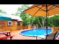 Hill Country Premier Lodging -- The Cabin at Rooster Ridge -- Wimberley TX