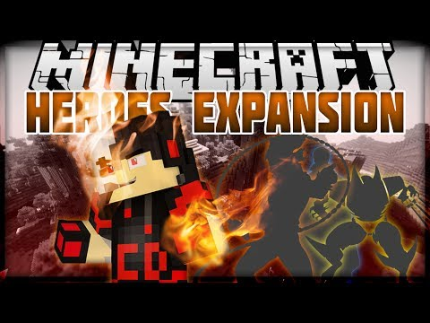 Minecraft: Mod Showcase - Heroes Expansion [GHOST RIDER, THOR, AND MORE!]