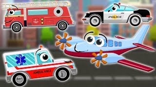 Helping Hands | Airplane | Police Car | Fire Truck | Ambulance