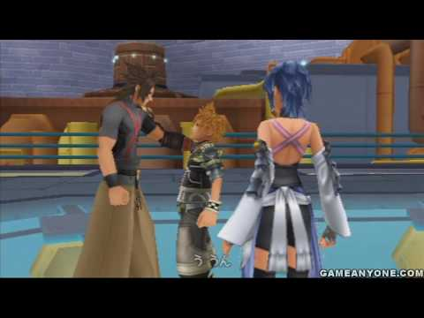 Kingdom Hearts: Birth by Sleep - [Terra - JPN] - Part 18 - [Radiant Garden 2/4 - Trinity Armor]