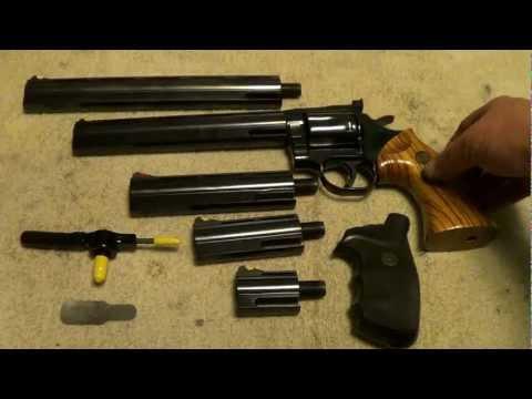 Dan Wesson 357 Revolver 5 Barrel Set