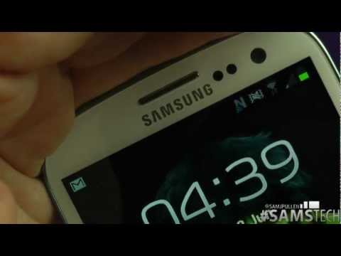 Samsung Galaxy S3 - LED Notification Demo & Settings