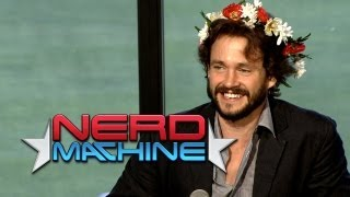 """Hannibal"" Highlights: Conversation with the Cast & Creators - Nerd HQ (2013) HD - Hugh Dancy"