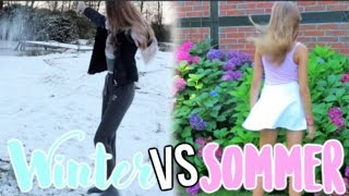 SOMMER vs WINTER | xPink Cupcake