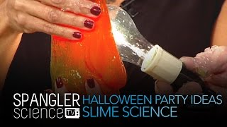 Halloween Party Ideas: Slime Science - Cool Science Experiment