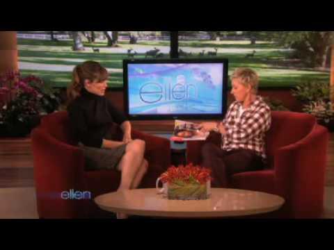 Jennifer Garner Returns to Ellen! after 4years.