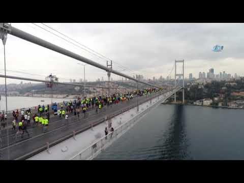 Avrasya Maratonu Havadan Görüntüler