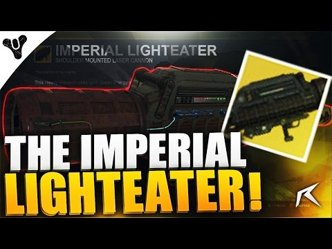 "Destiny - AMAZING ""Imperial Lighteater"" Exotic Laser Weapon! 