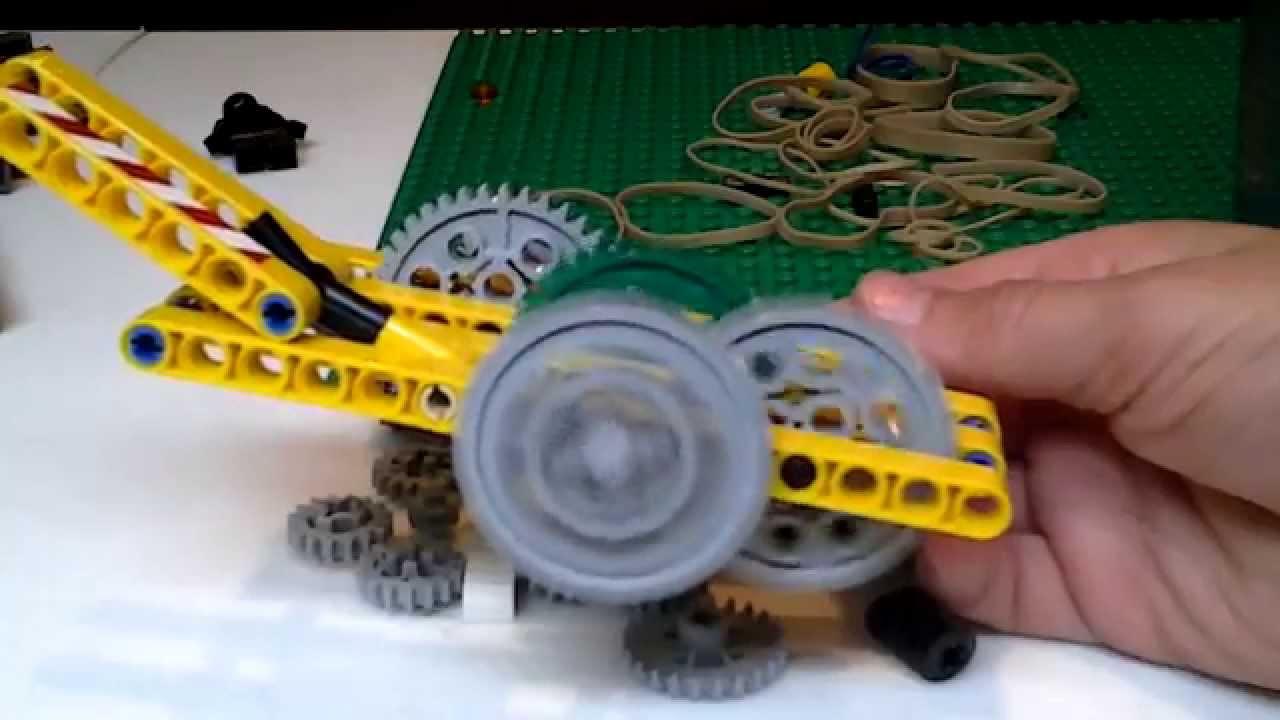 Lego Wind Up Motor Ultimate Youtube