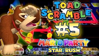 ABM: Mario Party Star Rush!! Toad Scramble!! Walkthrough # 5 World 2-2