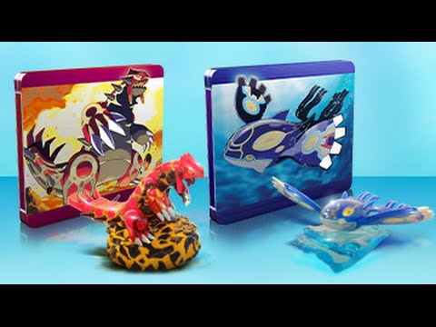 Pokemon Omega Ruby And Alpha Sapphire - Steelbook Case And Extra Pre-order Stuff! video