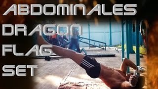 Set abdominales - Dragon Flag Set- │Barras México Street Workout│