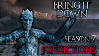 Season 7 Predictions (Game of Thrones) PART 1