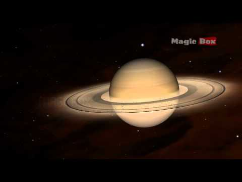 Kids Educational Videos - The Solar System  - Saturn