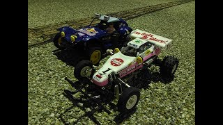 Tamiya 1/10 RC Car HOLIDAY BUGGY vs THE FROG