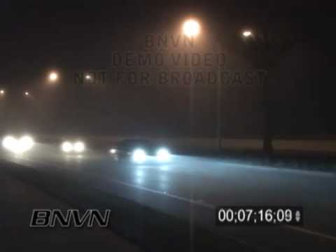 2/23/2006 Dense overnight fog video from downtown Sarasota Florida
