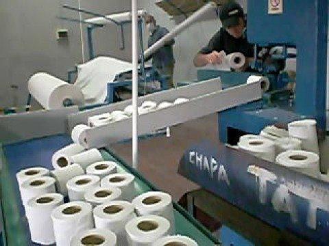 Rebobinadora de papel higienico youtube - Como se pone el papel pintado ...