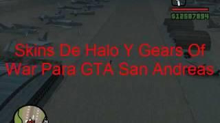 Descargar Skins De Halo Y Gears Of War Para GTA San Andreas PC (Listos Para El Skin Selector)